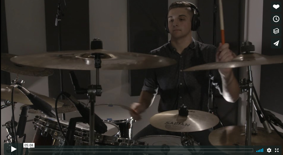 Ryan Bender Drum Video